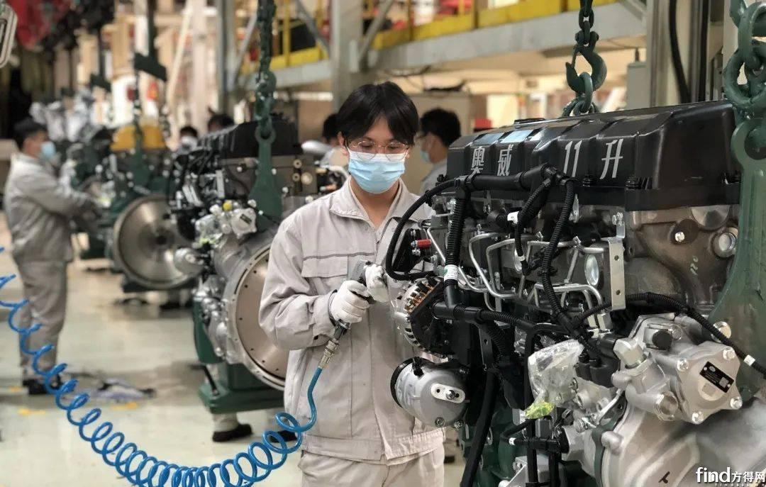 """6天生产5900多台!这家发动机公司春节期间充满了""""牛"""""""