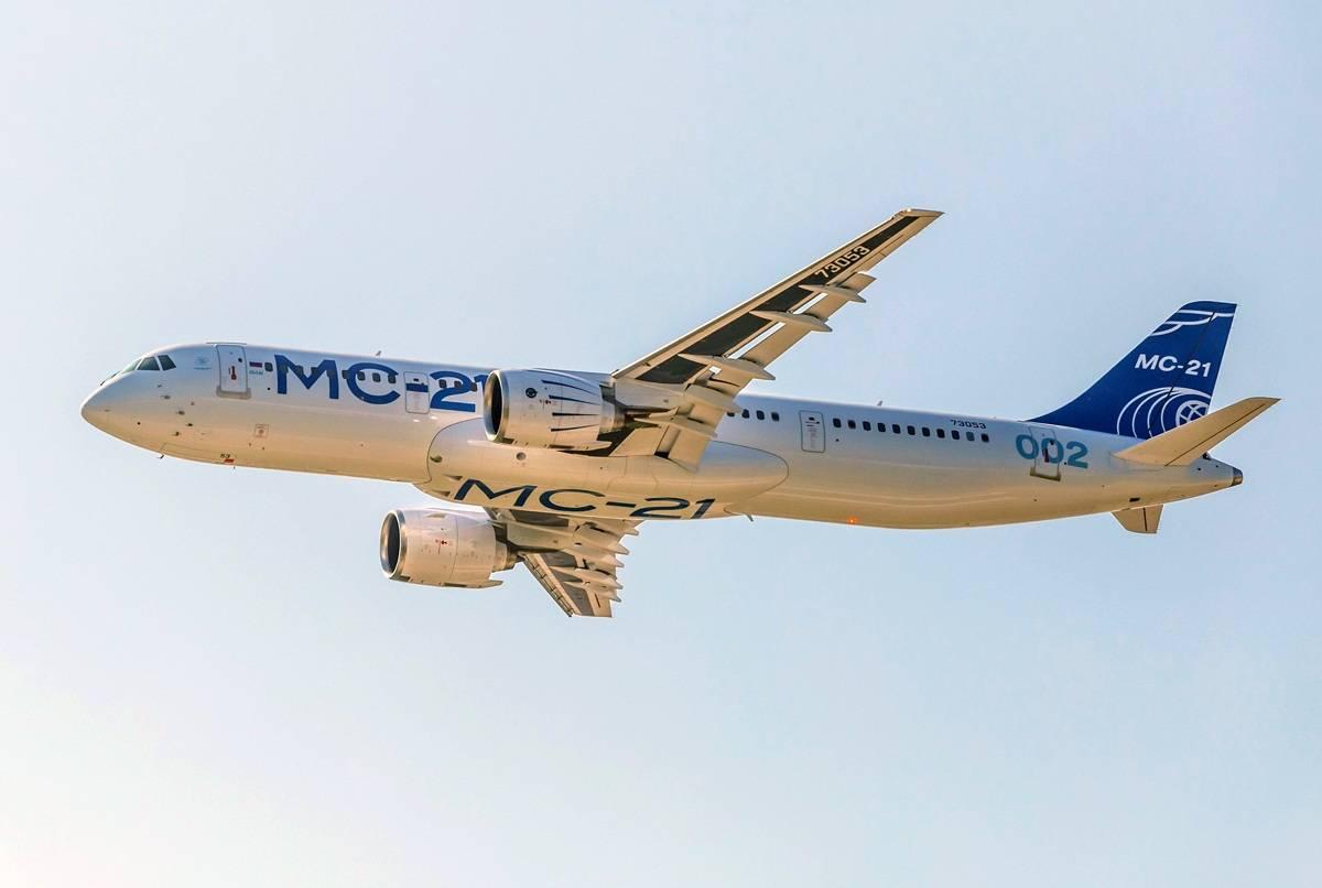 果然大国利器,MC-21集各种先进技术于一身的强大飞机!