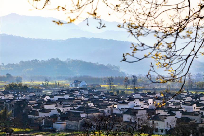 春天赏花攻略,皖南古村落里的诗情画意,就在这3个低调的小村里