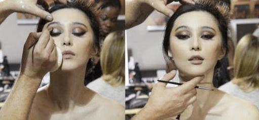 有人化妆是为了美,可吴莫愁化妆简直是为了吓人,还是素颜吧