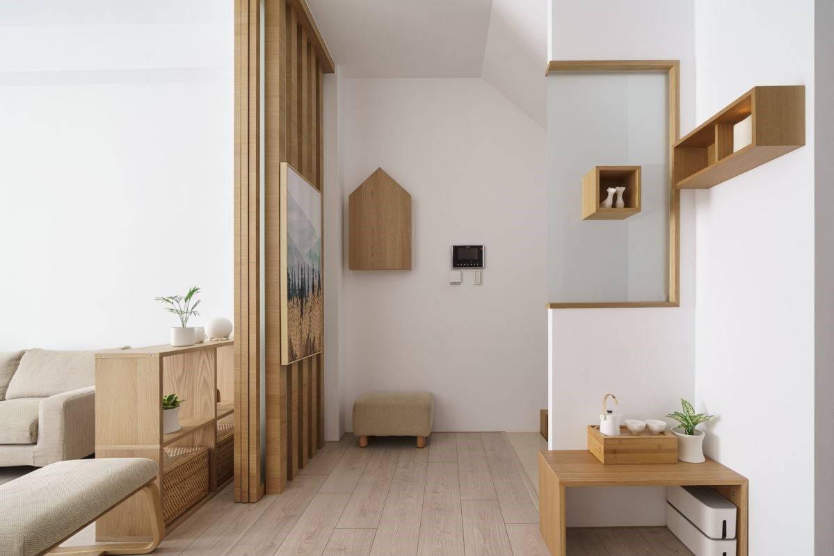 复式楼装修案例丨用灵 感和创意作画,描绘出业