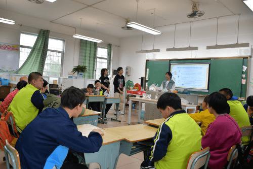 湘潭大学化学学院青志队探访特殊学校活动顺利开展
