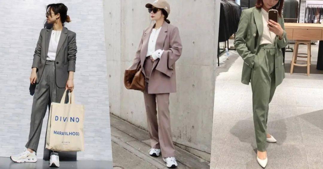 原创             如同韩剧中的时髦OL!6种好看的女生西装外套搭配公式推荐