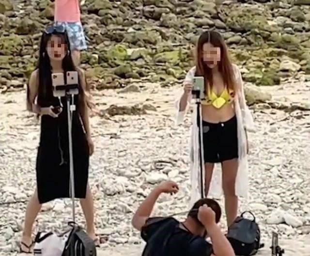 海南三亚海滩, 快被这种人占领了,你感觉怎么样呢?
