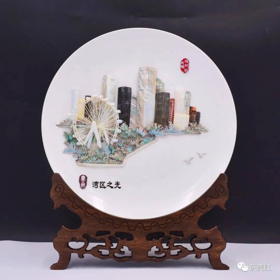 【北上广深,贝雕八景】追寻繁华都市的缩影——深圳市集锦