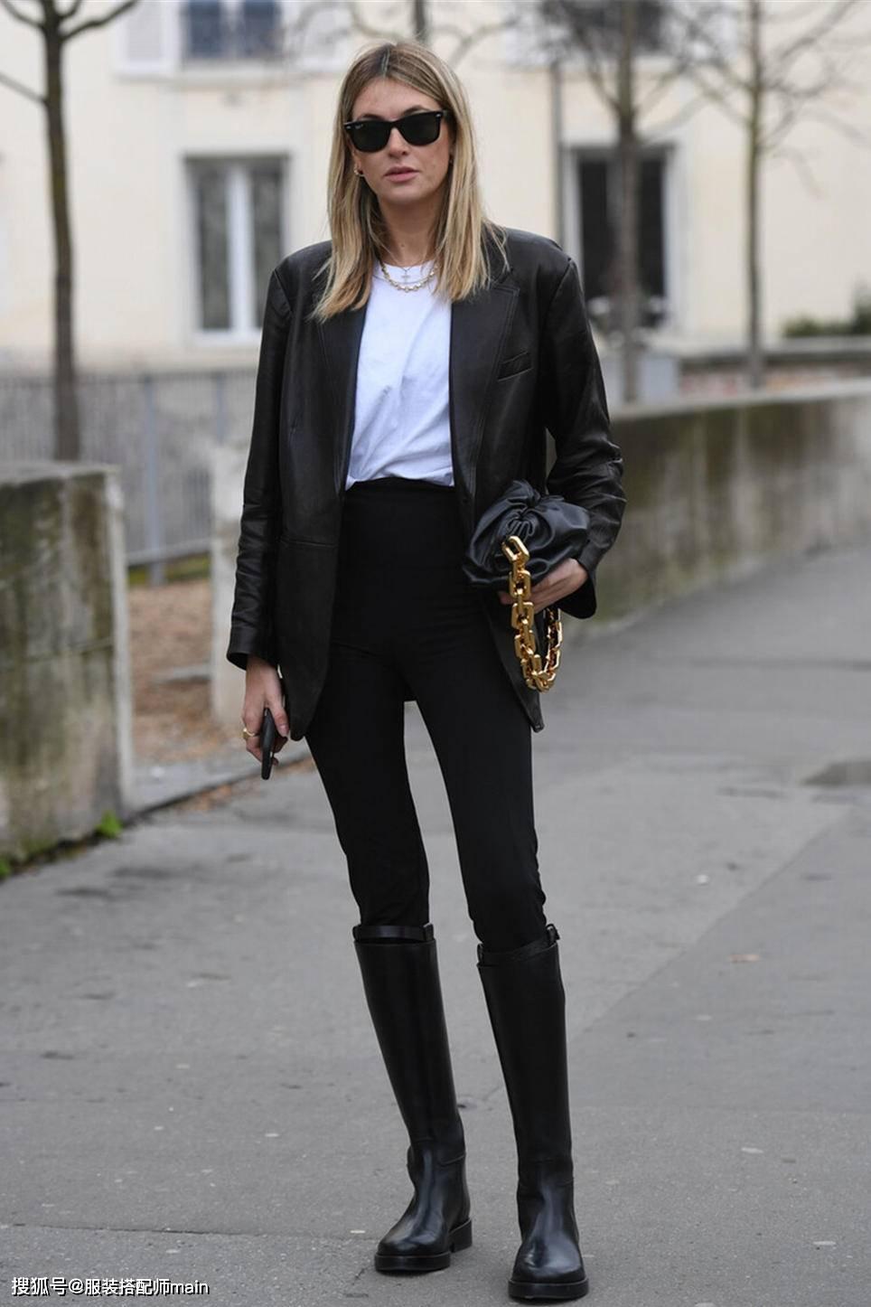 原创             胯宽、腿粗、腿不直,想穿时髦小黑裤,你需要掌握这些技能