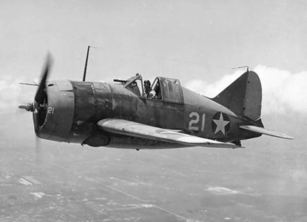 """二战F2A""""水牛""""战斗机:舰载机的拓荒者,中途岛"""