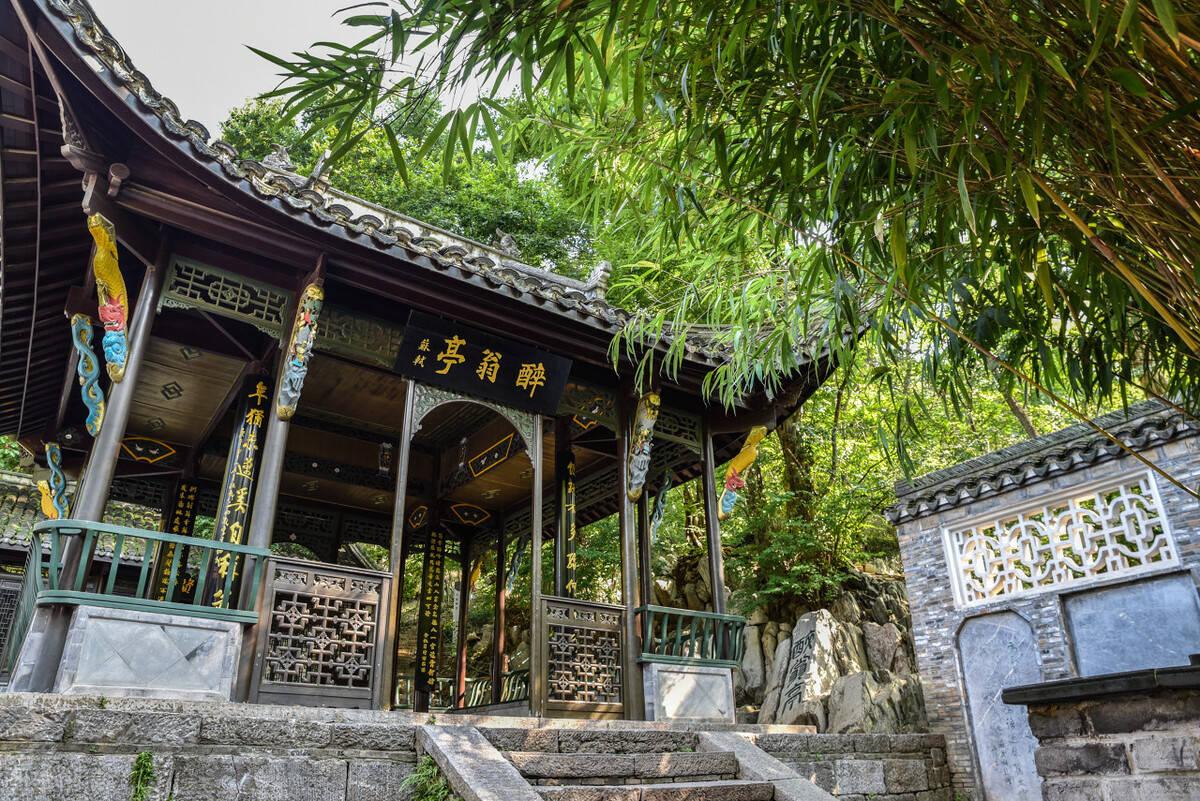 原创             中国的四大名亭,沉淀千年的美,你都去过吗?