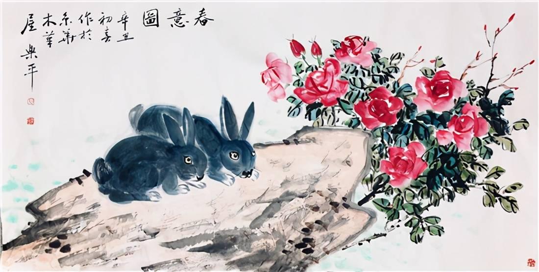 宣和斋书画当代著名书画家作品欣赏