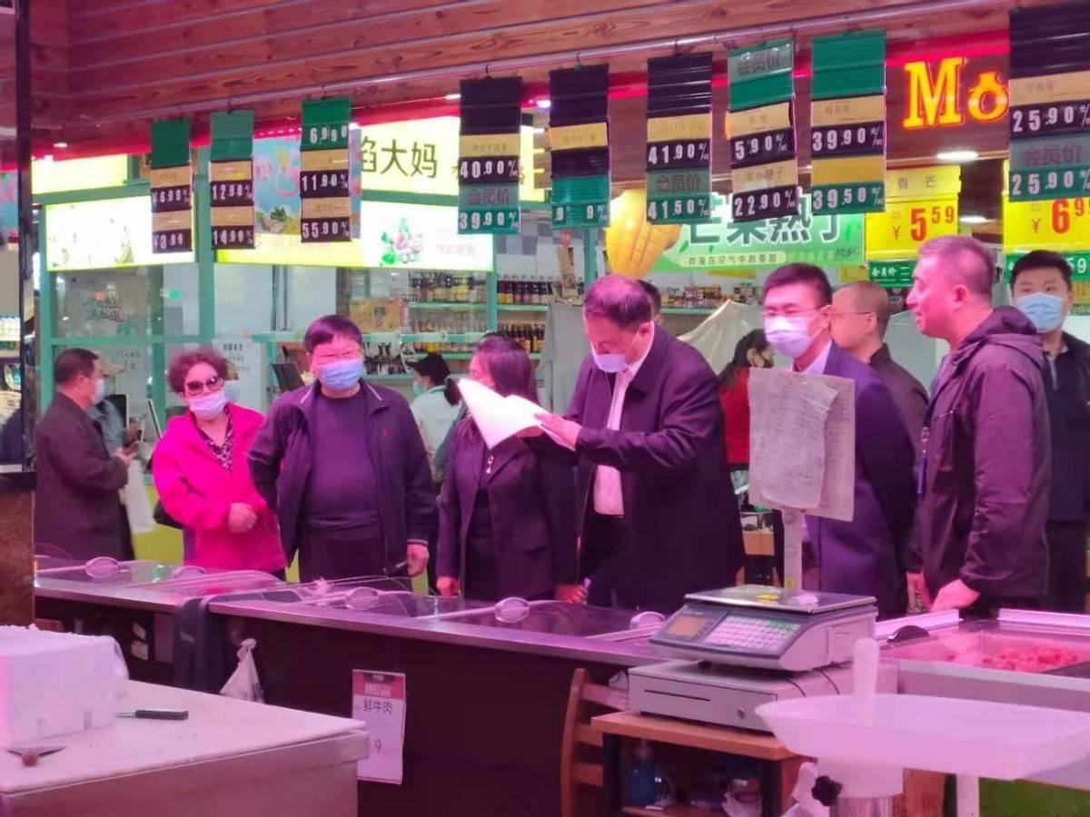 吉林省市场监督管理厅领导到朝阳区督导五·一节前食品安全工作