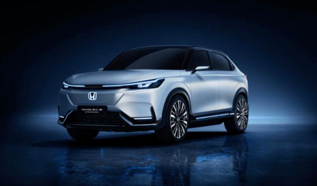 本田全新纯电版CR-V渲染图,设计更加锋利,预计23年亮相_车型