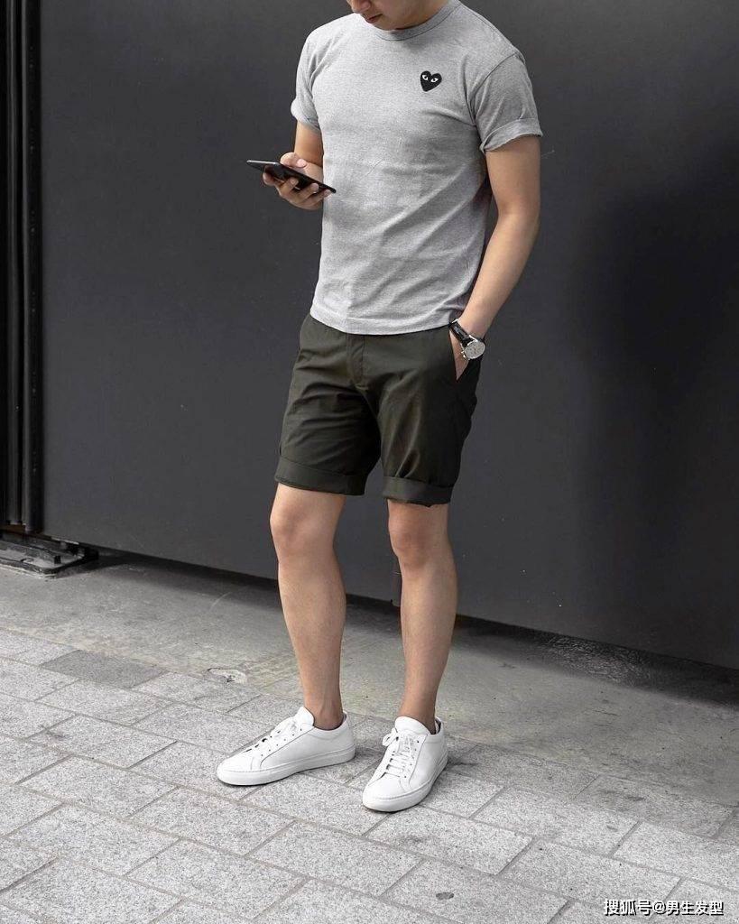 """夏天短裤那么多 还是这条""""四分裤""""时髦百搭 这样穿更显魅力 爸爸 第6张"""