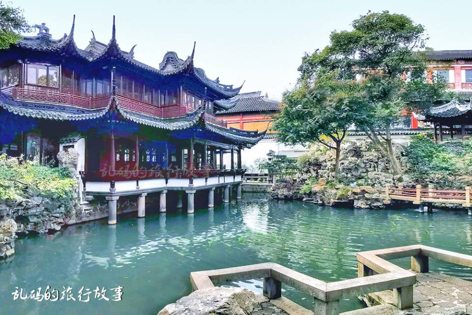"""上海这座明代园林,风光不输苏州名园,罕见假山号称""""江南之冠"""""""