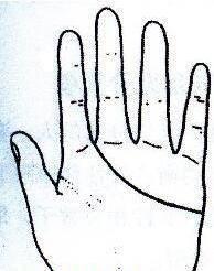 """秘传手相古相法精解:手相""""感情线""""、详细图文解析、值得收藏!  第6张"""