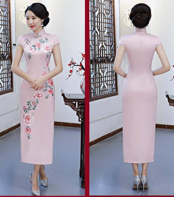 心理测试:4款旗袍,选一款喜欢的花色,测晚年儿女会孝顺你吗?