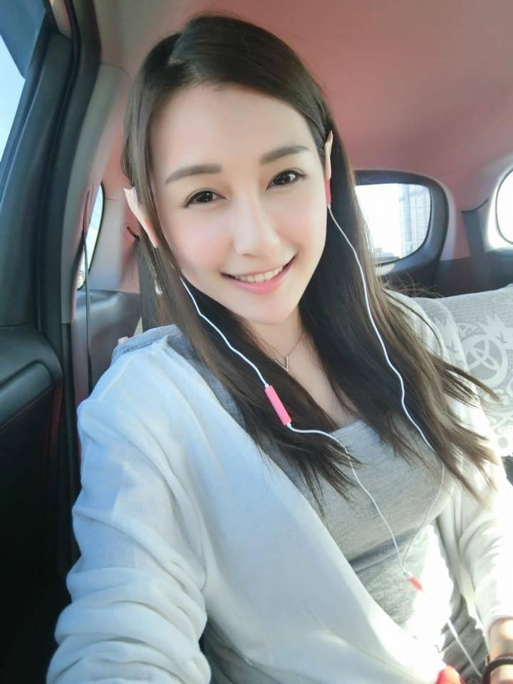 台湾正妹麻豆陈乐乐,网友亲切称她微笑女神