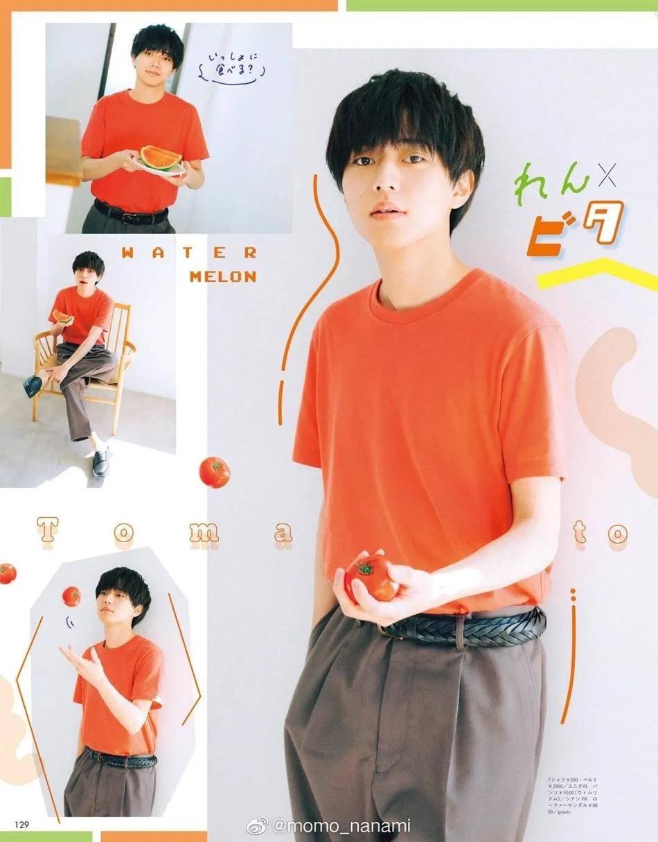日本男星永濑廉拍写真太俊俏!阳光少年不愧是国宝级帅哥                                   图2
