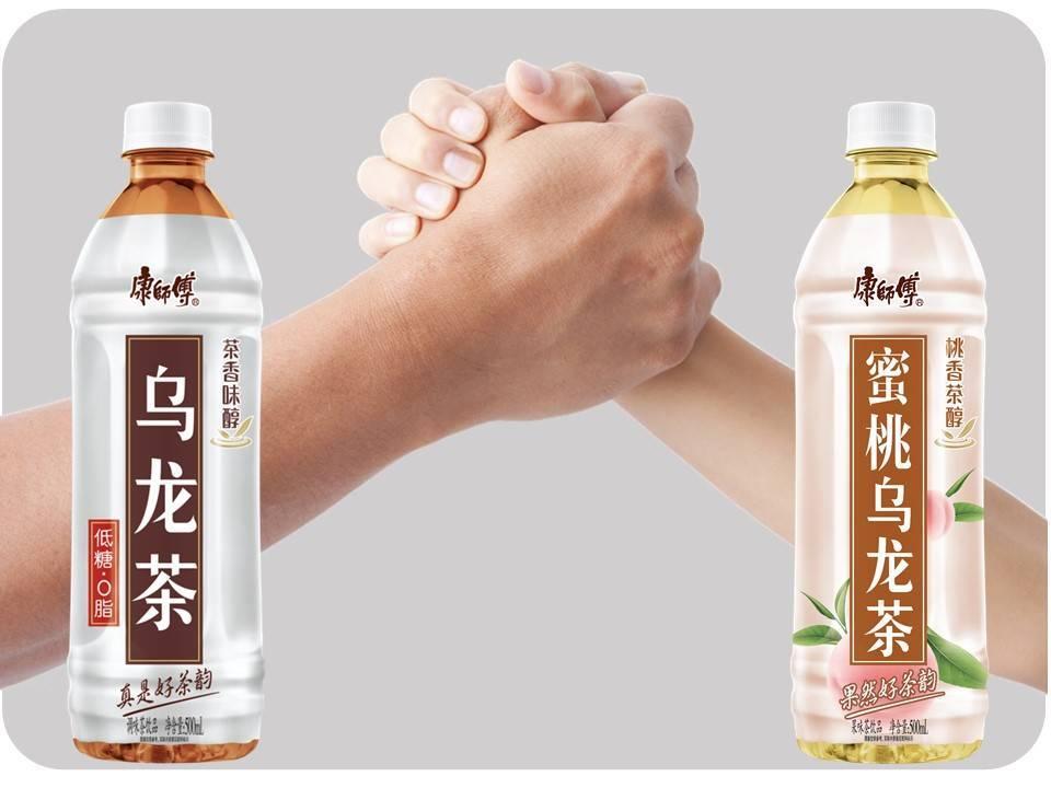 """康師傅烏龍茶推""""最強兄弟"""",瞄準健康茶飲細分市場"""