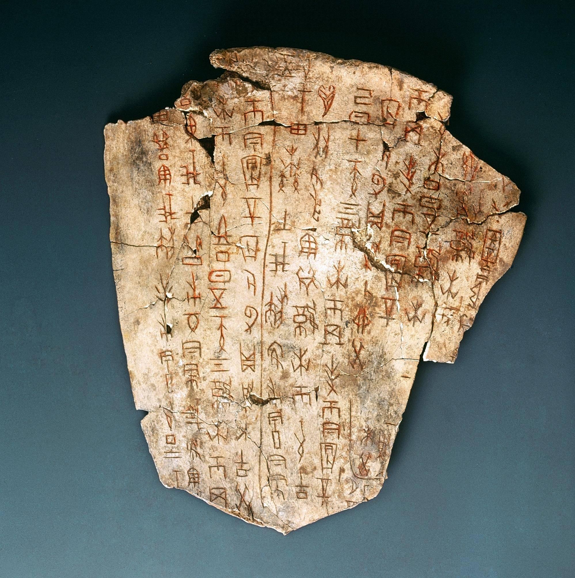 文字的演化历程  中国古代的文字演化