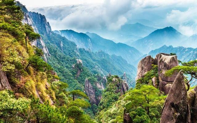 一座不逊于黄山的名山,一年四季风景如画,美到让人震撼!
