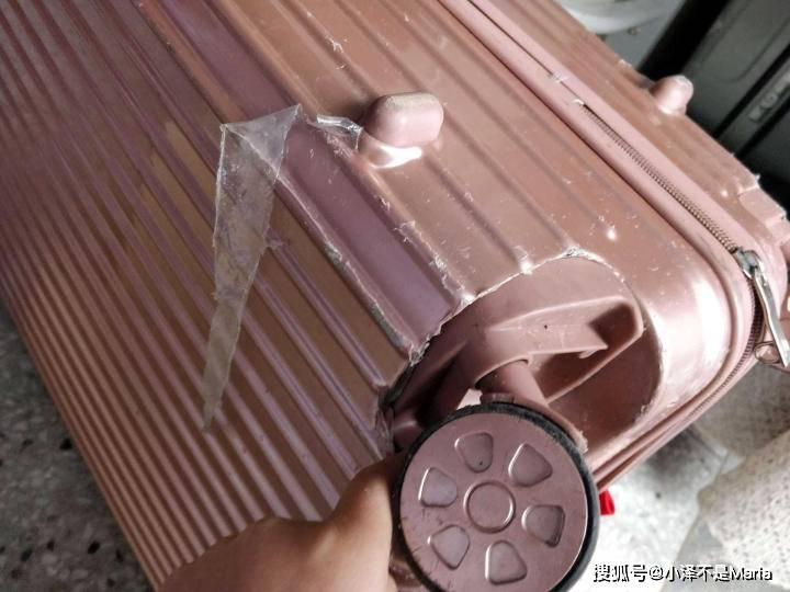 我的春日出行好物:少女心满满的地平线8号NONO行李箱 (图1)