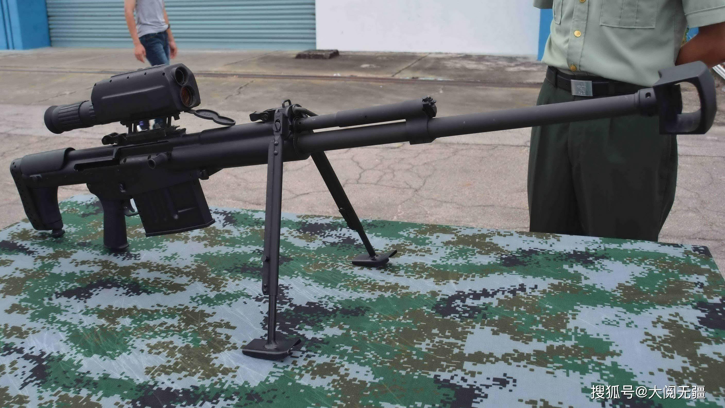 10式大狙脱胎换骨,新式二合一瞄准镜,高端大气上档次