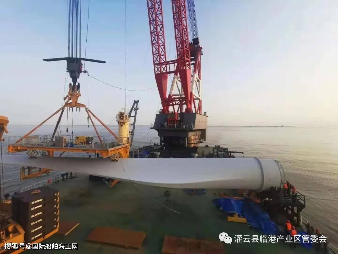 华能灌云海上风电项目建设迎来新进展