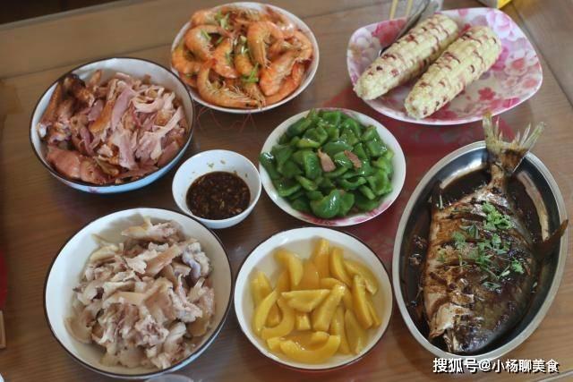 父親生日宴的家常菜,6菜1甜湯,吃得很開心,比去飯店實惠太多