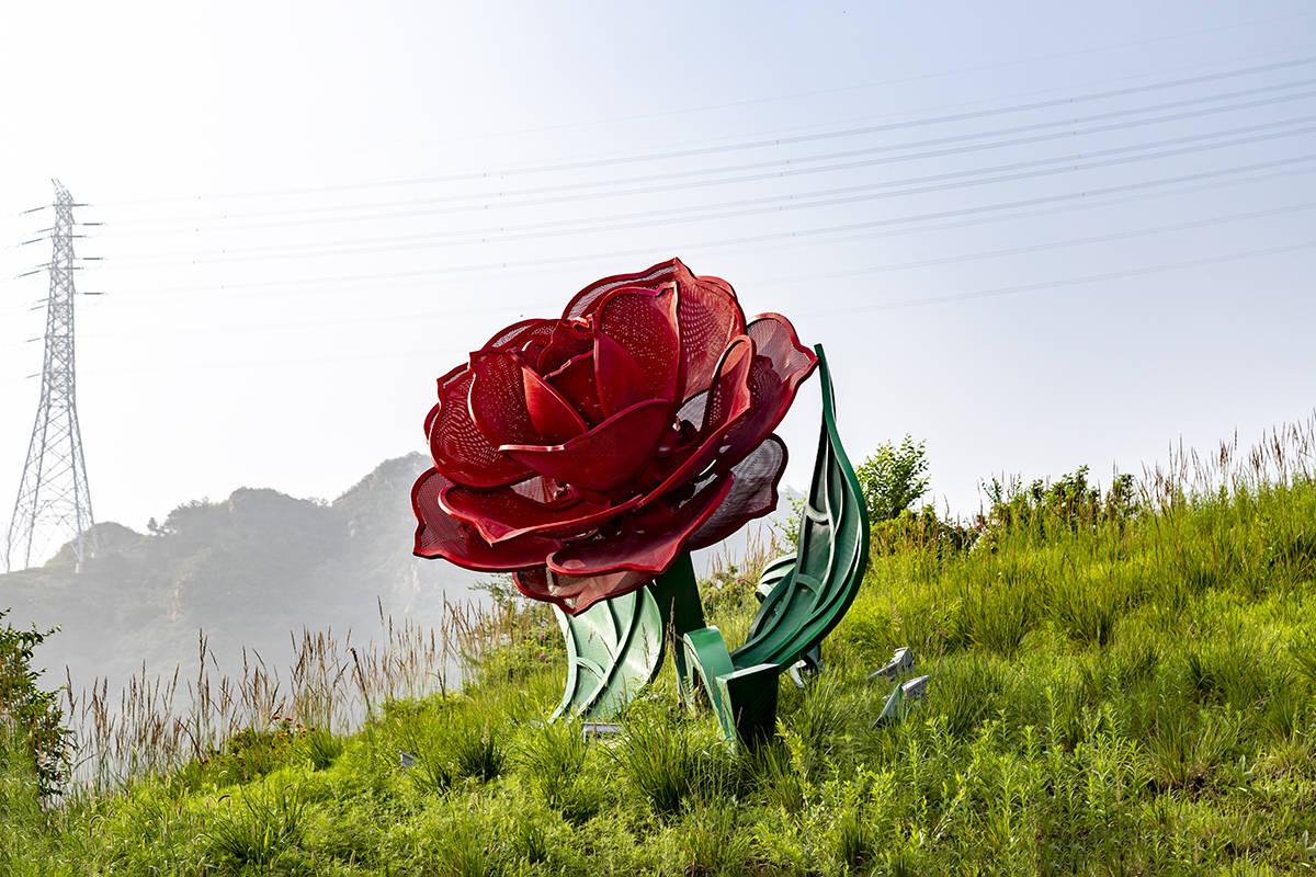 休閒浪漫玫瑰情園,樂享一世情園一生快樂
