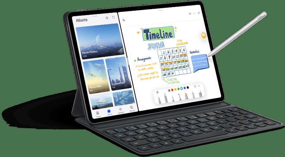 华为官宣新机:鸿蒙平板搭载高通芯片,7月6日正式发布_MatePad