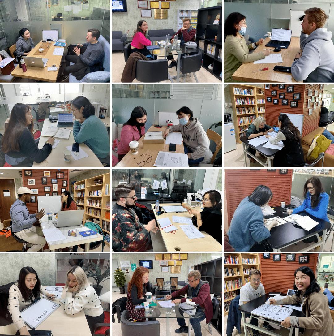 IMCPI实习课堂教外国人学习中文