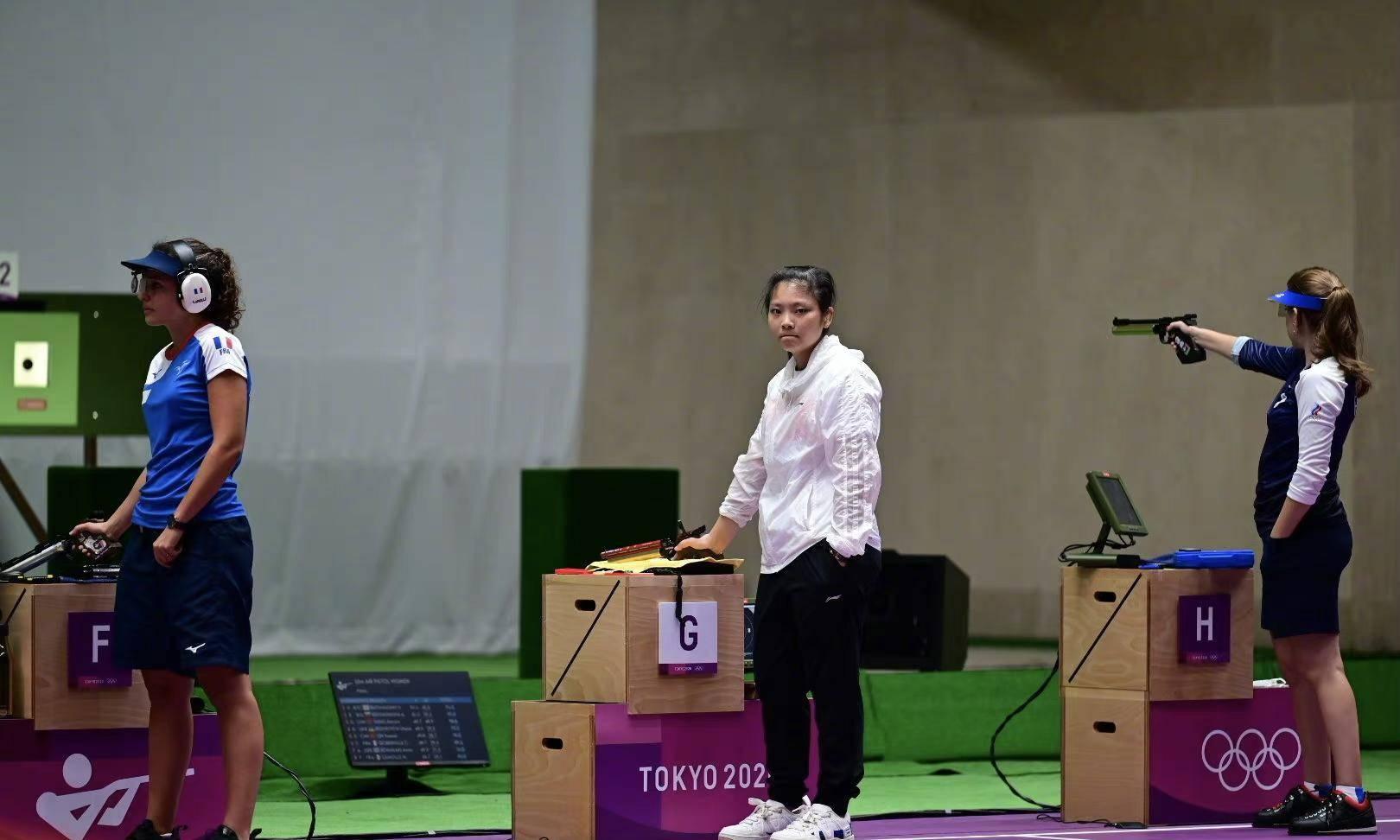 中国队00后再添一枚奖牌,姜冉馨摘铜,捍卫女子十米气手枪辉煌!_ag街机游戏
