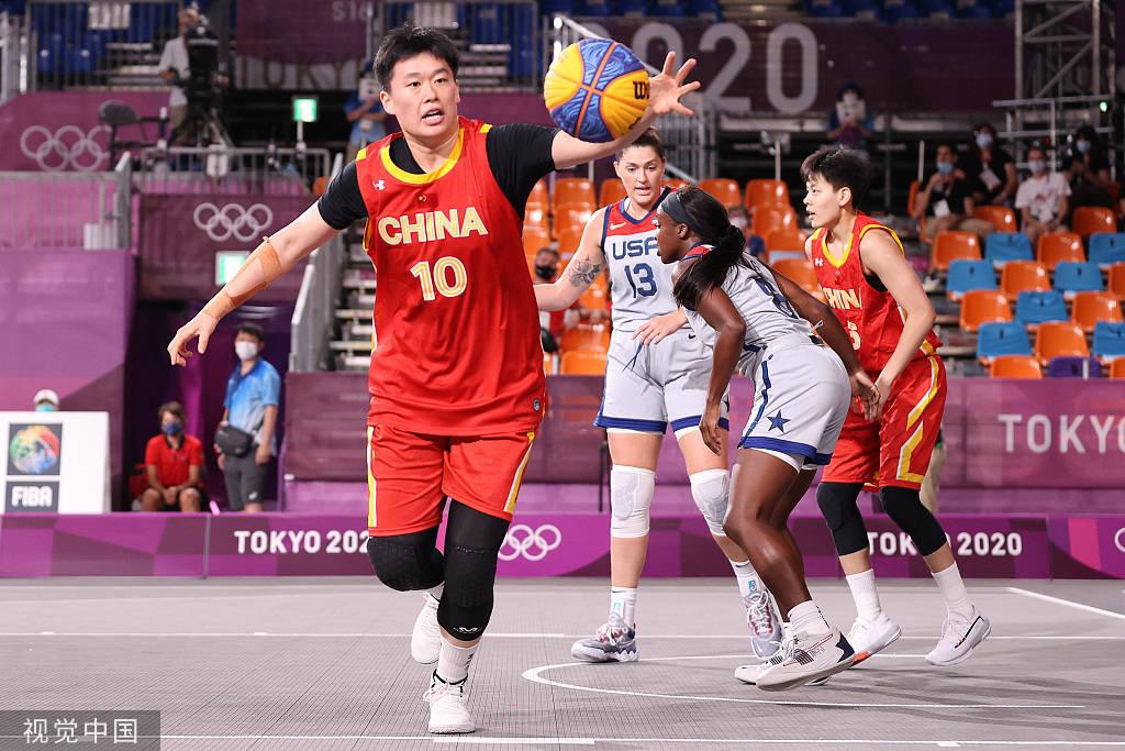 奥运三对三篮球-杨舒予8分 中国女篮遭绝杀惜败美国_斗牛娱乐登录