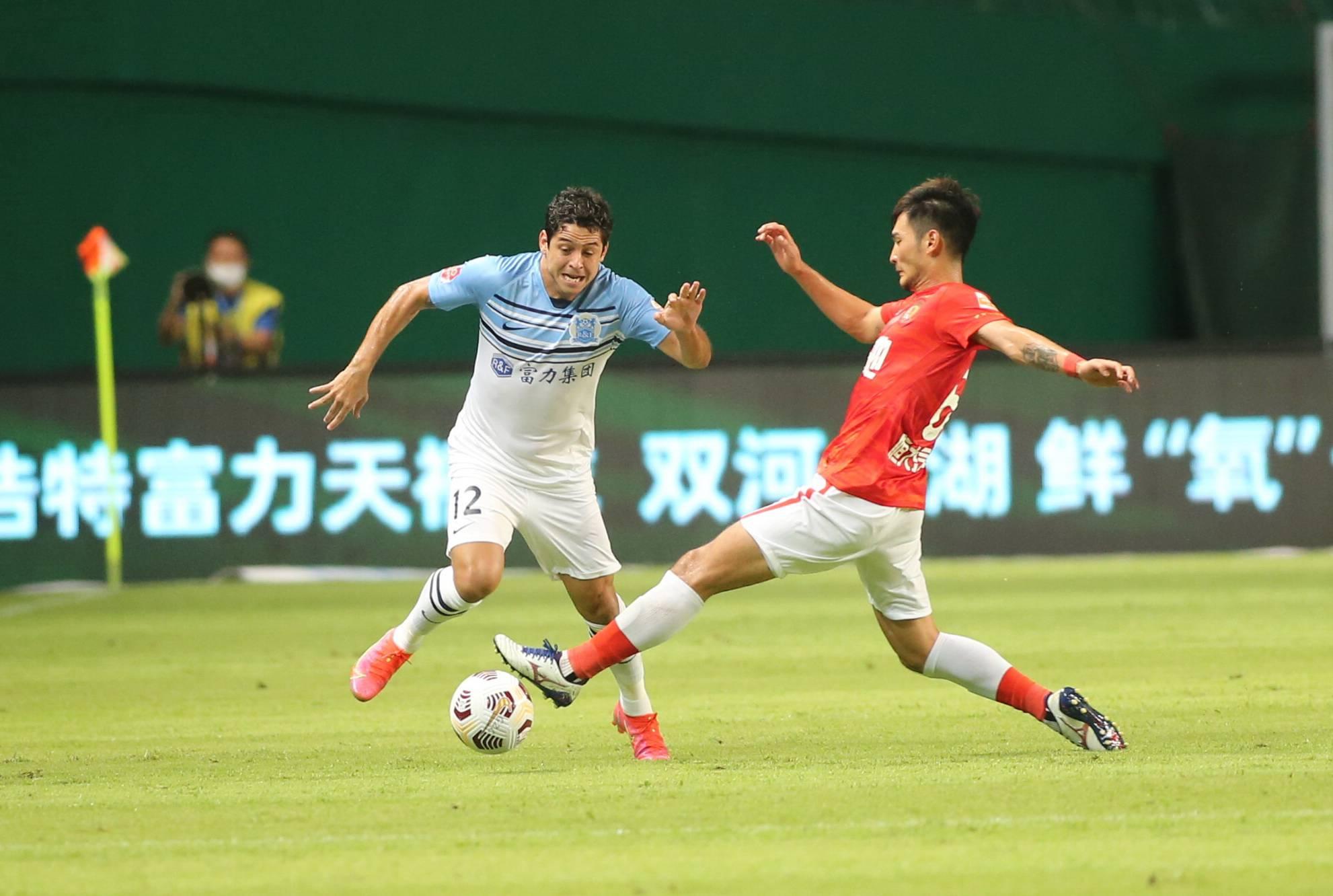 广州队战泰山将适当轮换 卡帅盼比山东多进几球