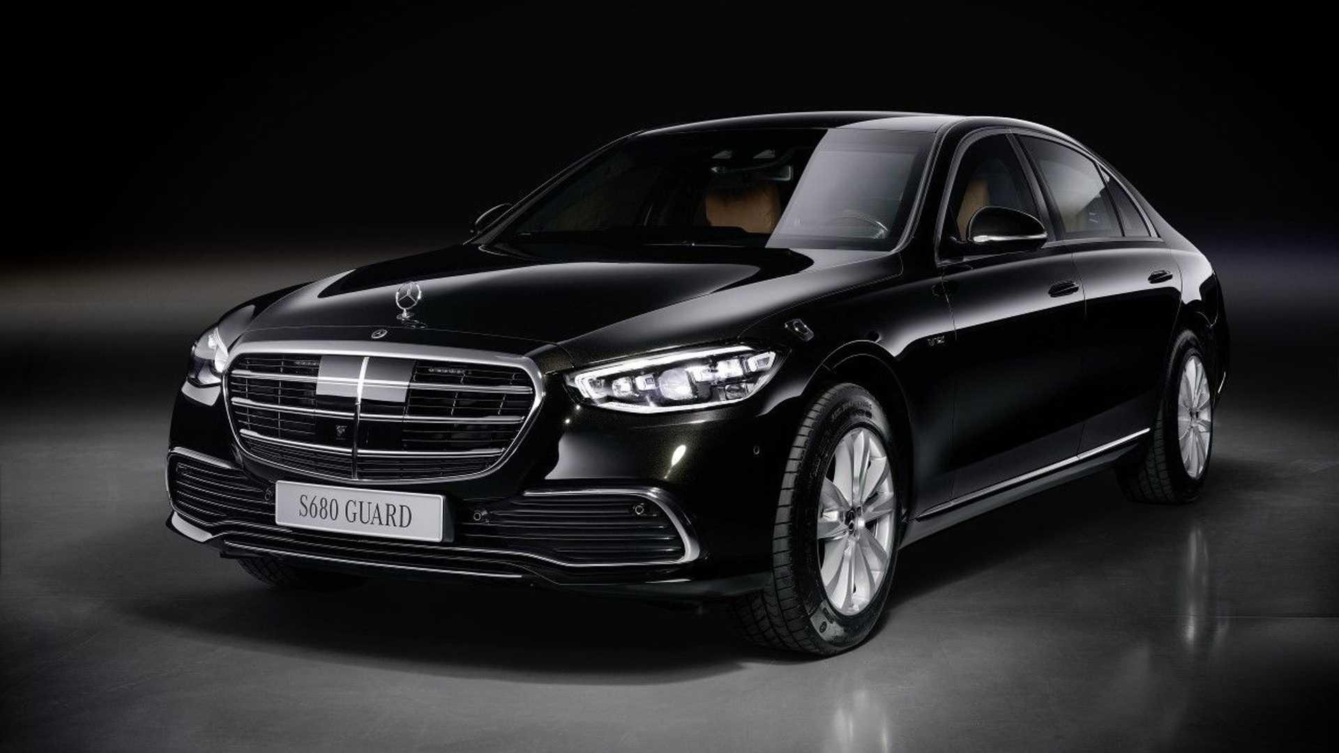 全新奔驰S级防弹版发布 6.0T动力 售价超380万