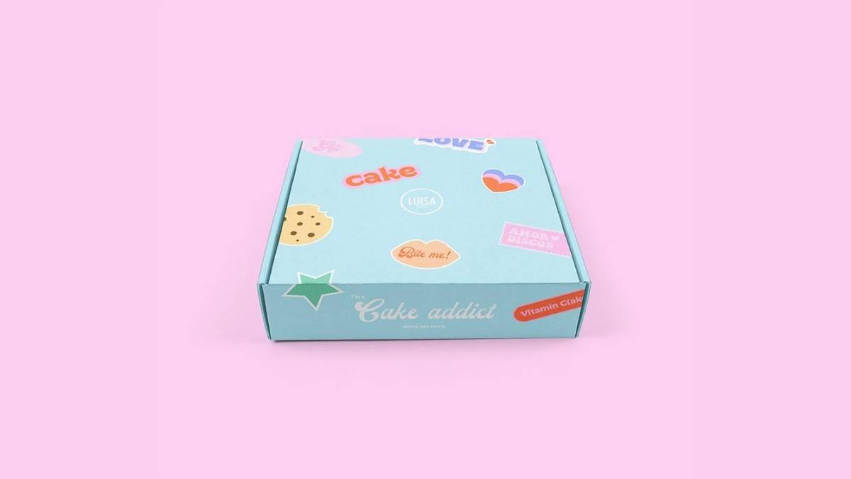 蛋糕包装设计探讨