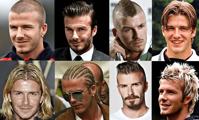 """46岁贝克汉姆新发型曝光!一头稀疏白发显老10岁,仨儿子""""长残"""""""