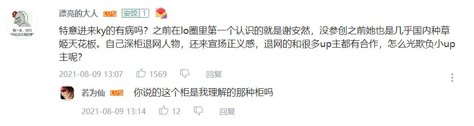 图片[5]-谁才是中国第一LO娘?曾因作品侵权被质疑,人间星光谢安然翻车了?-妖次元