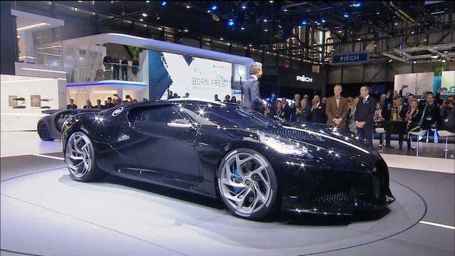布加迪推出的这台车指日常这个订价土豪见了都震动