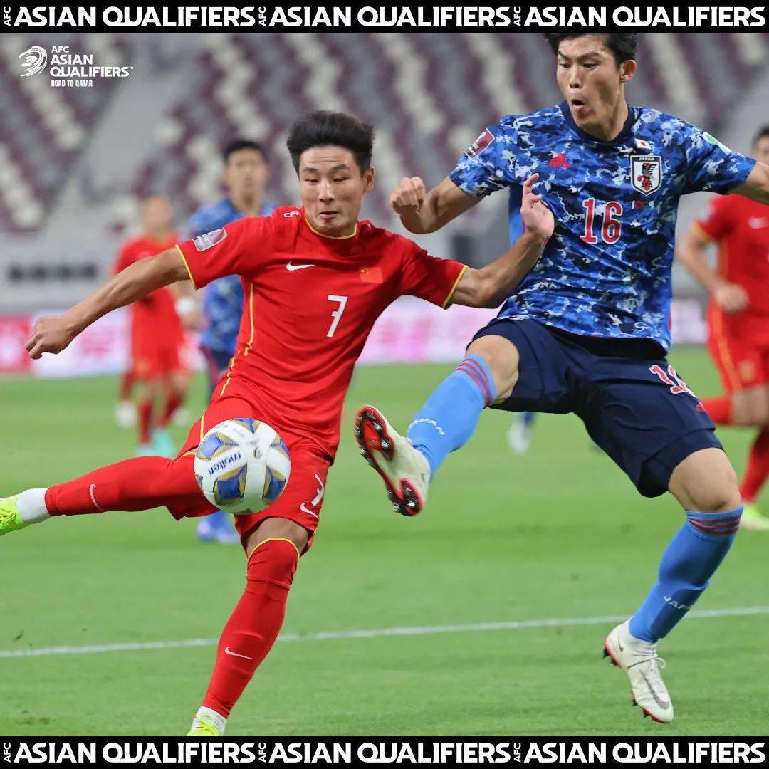 世界杯预选赛国足0-1不敌日本,就像是一场事先宣扬的失利!两队实力差距明显_足球