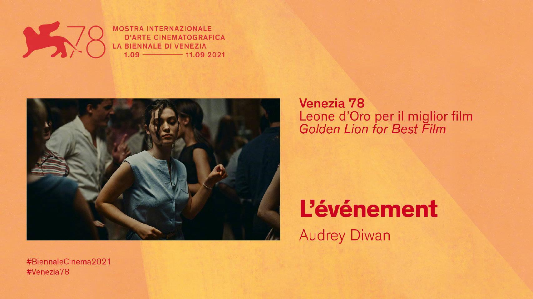 第78届威尼斯电影节获奖者:佩内洛普获得该片后 最佳影片向人们展示