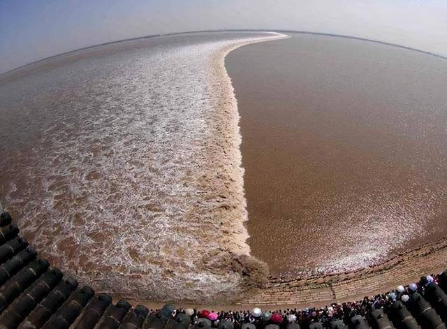 9月24日钱塘江天文大潮最佳观潮时间即将到来