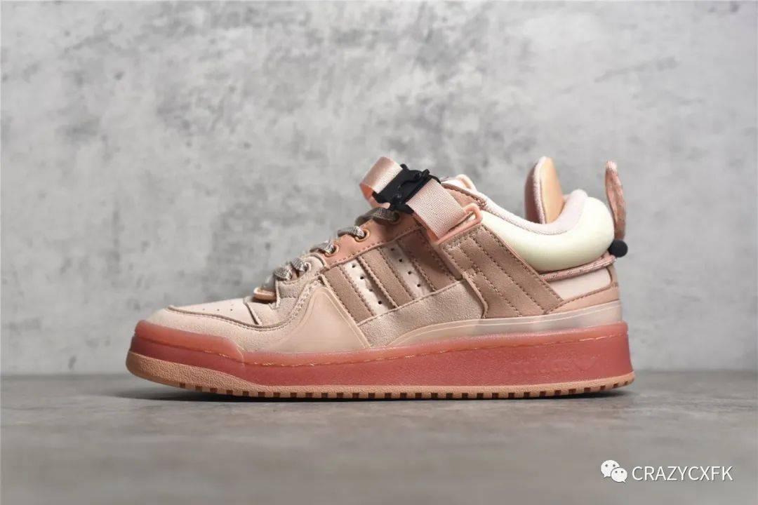 阿迪达斯中秋兔 Bad Bunny x Adidas Forum Low 联名低帮运动鞋