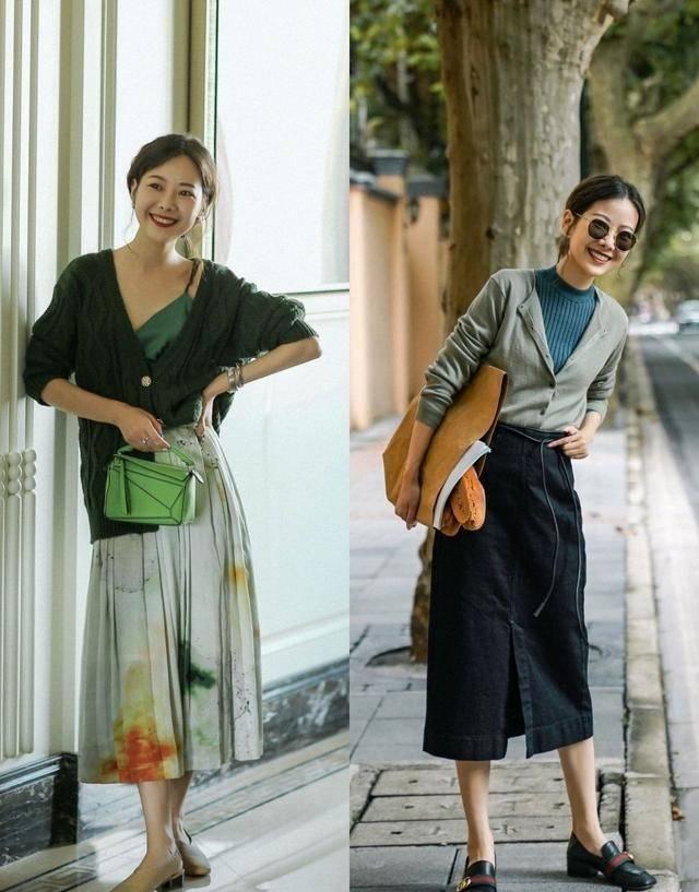 30+女性精选:入秋后针织衫+阔腿裤,时髦显瘦,专为女性朋友准备