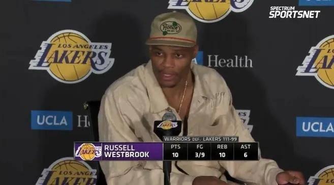 原创             完了!湖人要交易威少?三场20次失误!他活该成NBA流浪汉