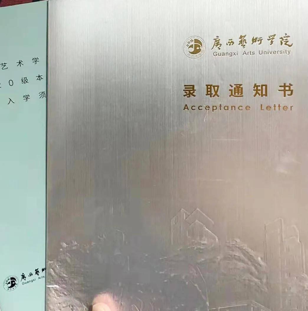 校尉美术邯郸学子杜芊憓—圆梦广西艺术学院?