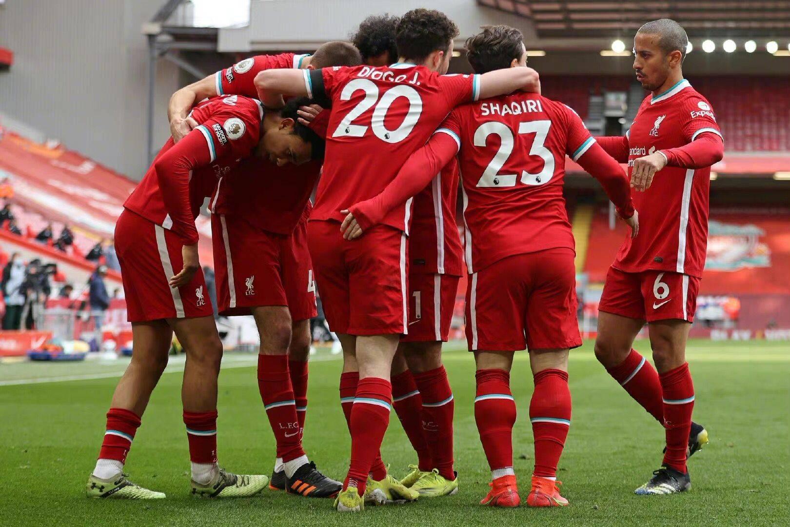 原创             利物浦争四手握两大优势 剩余6轮还需保底赢下4场