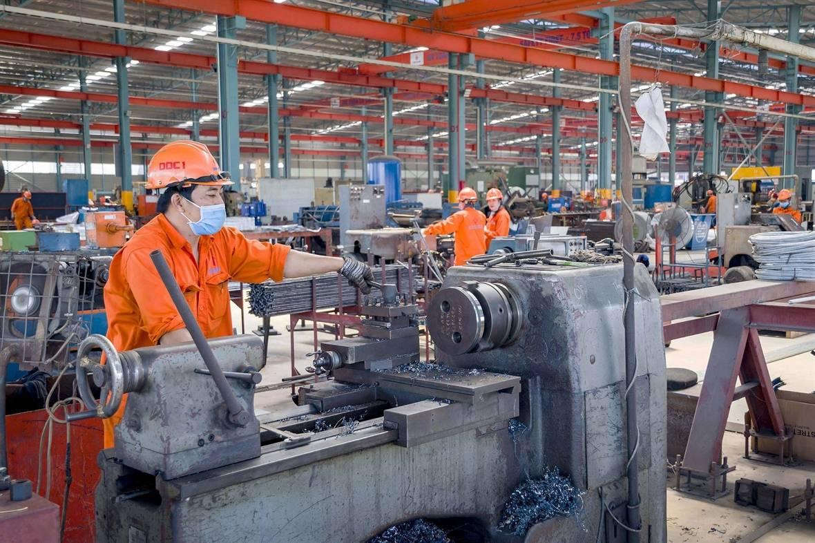 2021年4月,越南工业生产指数增长24.1%