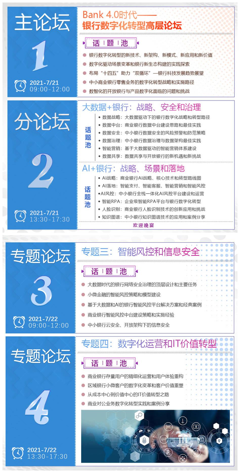 智见未来!FCS 第四届中国银行CIO峰会即将南下,7月21-22日,与您相聚广州!