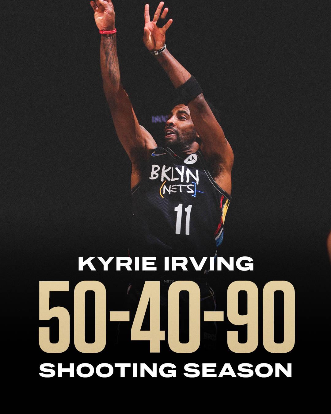 恭喜!欧文成功跻身180俱乐部 NBA历史第九位